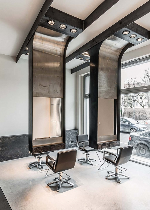 mirrors for hairdressing salon