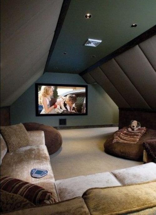 namų kino kambarys