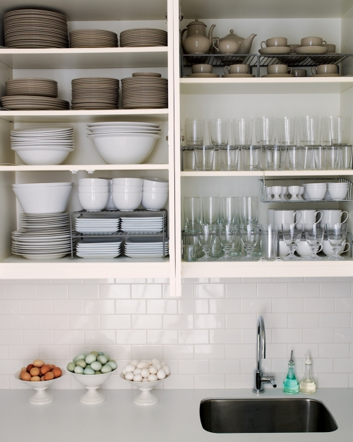 well organised kitchen