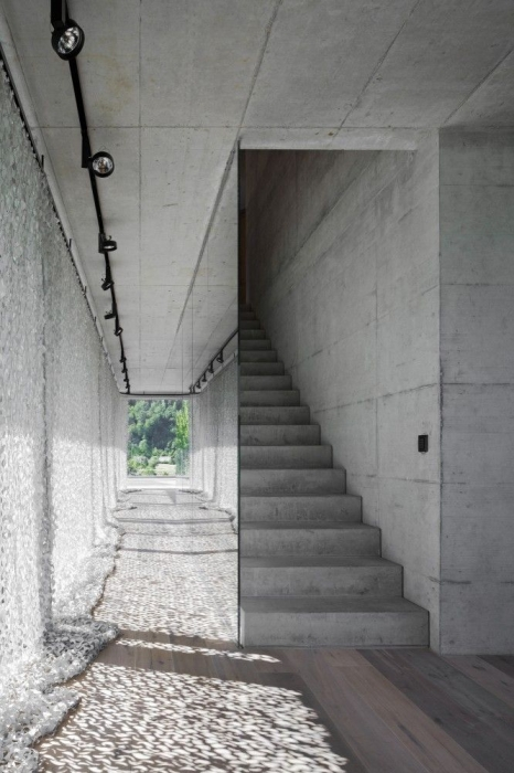 concrete in interior