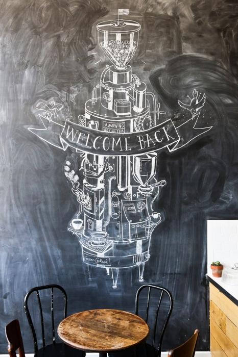 blackboard caffee