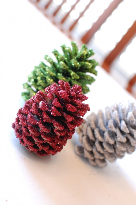 pinecones DIY