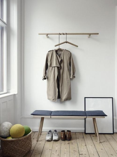 minimalistinis prieškambaris
