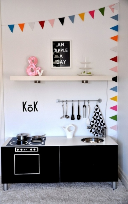 little childish kitchen