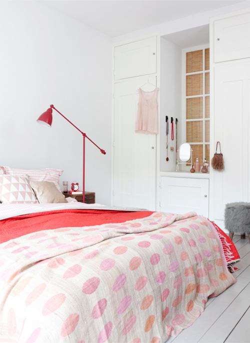 rožinis miegamasis