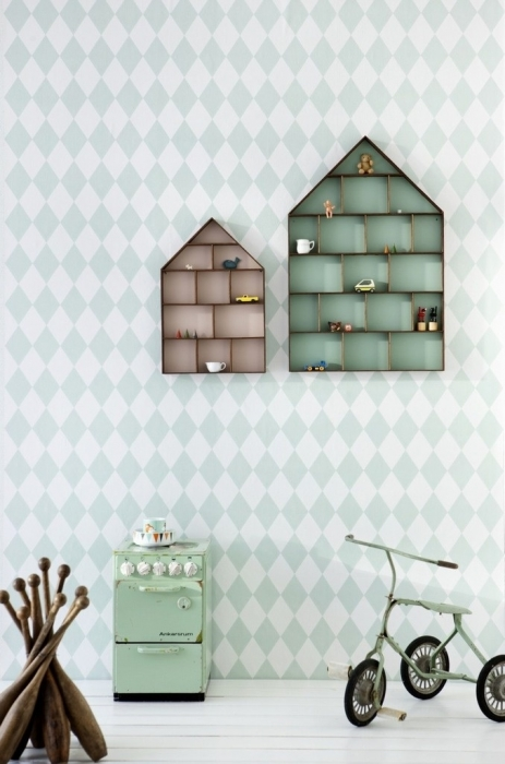 scandinavian shelves