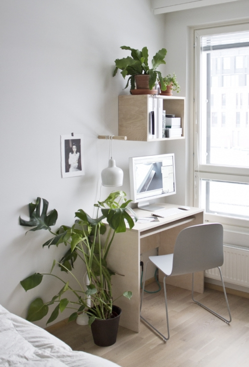 small working corner
