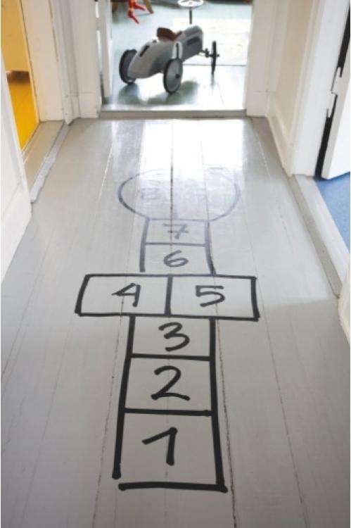grindys vaikų kambariui