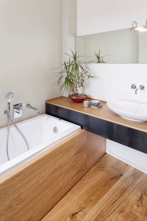 bathroom interior wood