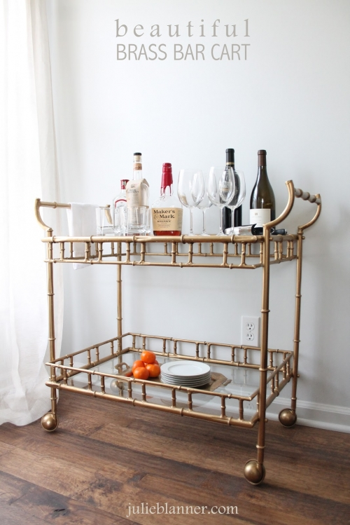 bar cart design