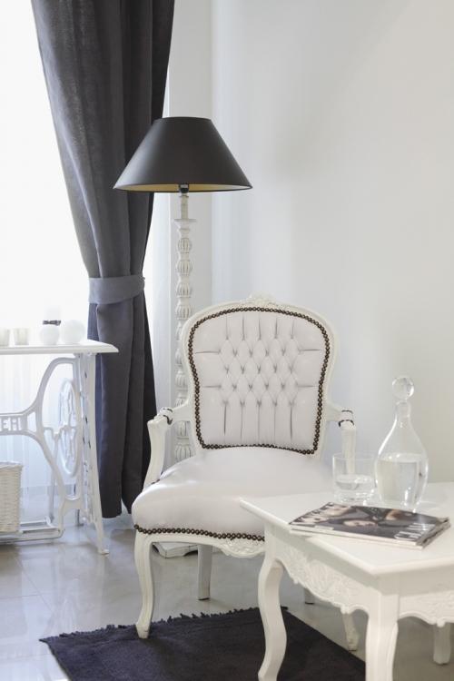 white classic interior