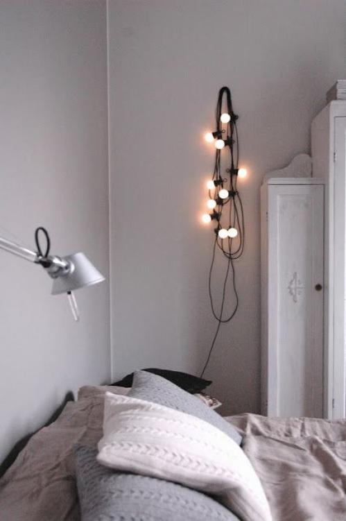 elektros lempučių girlianda