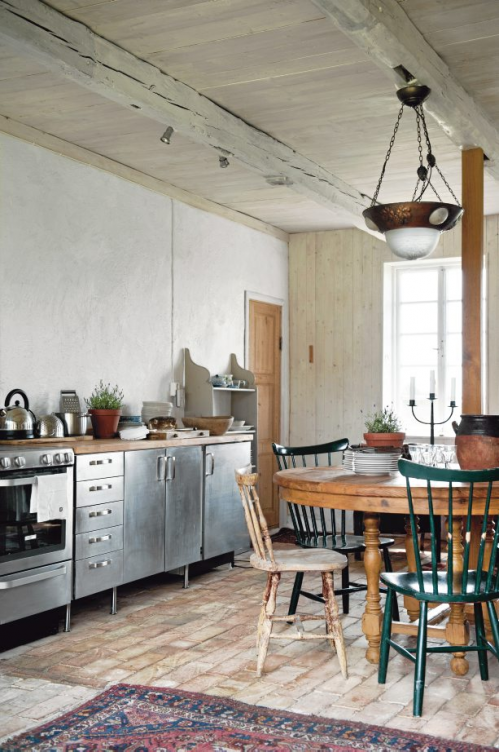 rural kitchen interior