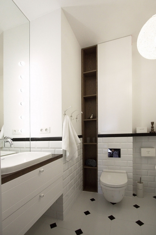 Scandinavian-style-bathroom-with-sleek-corner-shelves