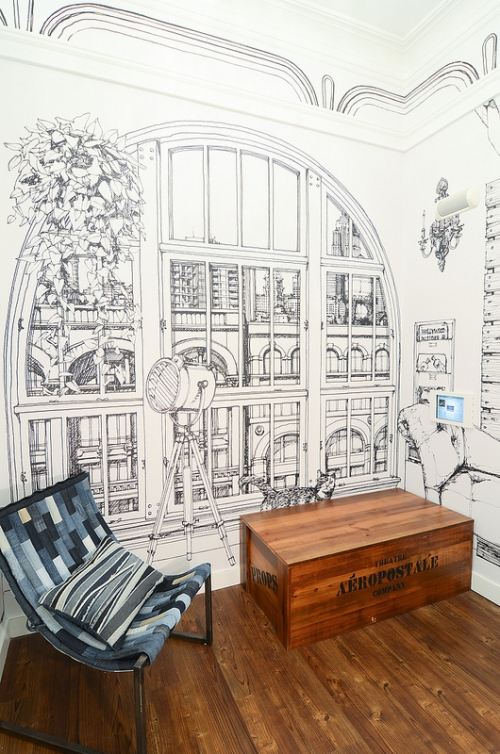 drawings in interior
