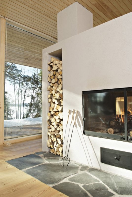 fireplace fasade