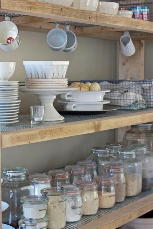 kitchen ware organising