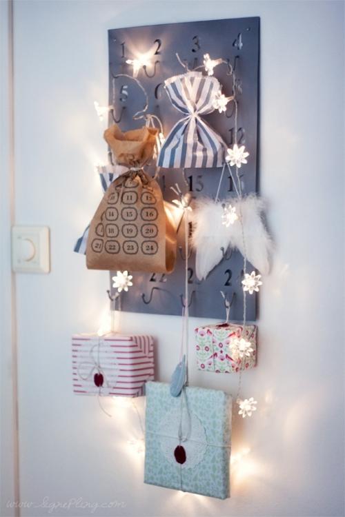 Christmas calendar presents