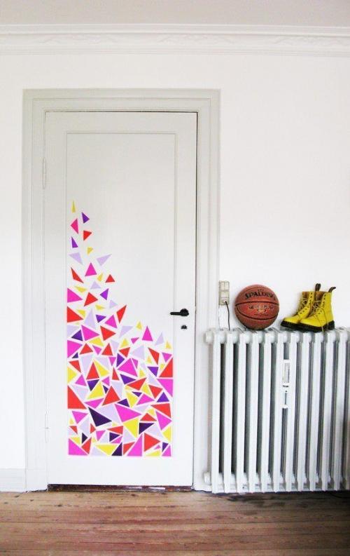 durų dekoravimo idėjos