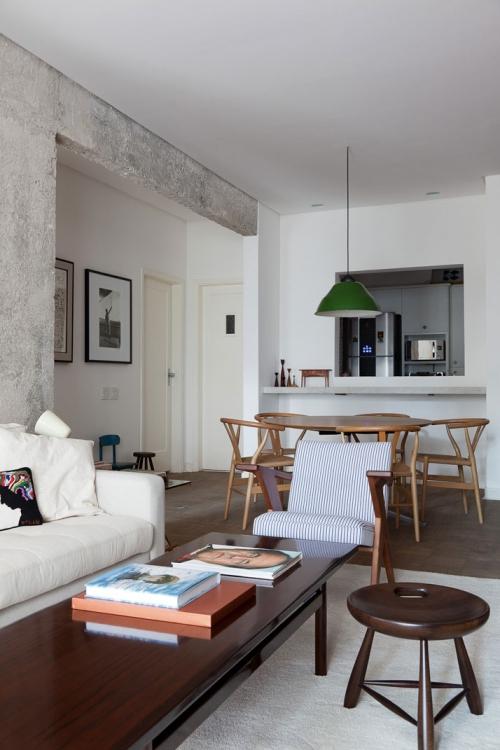 modern flat interior