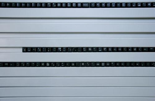 klaviatūros mygtukai