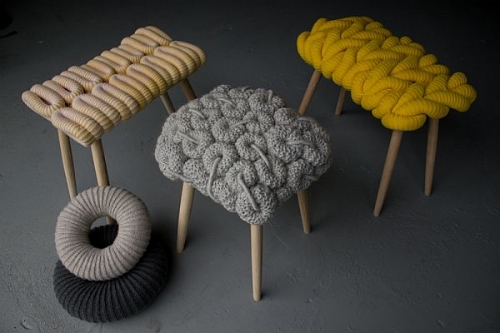 Knitted Chairs