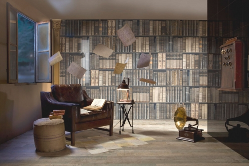tiles as books