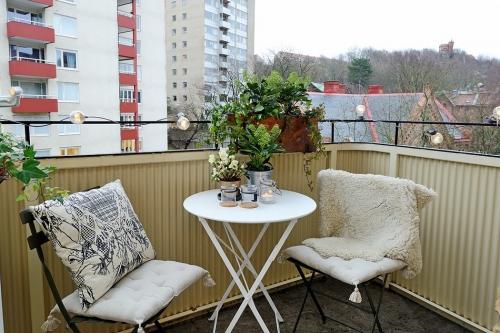 balkono interjeras