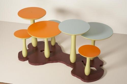 mushrooms table