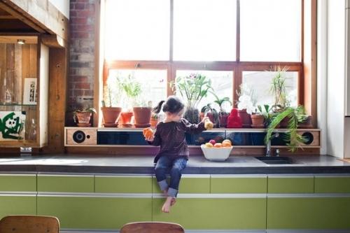 audio technika virtuvėje