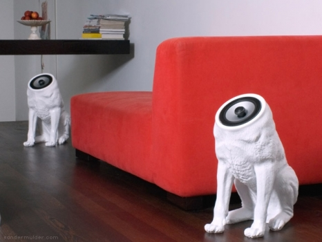 speakers dogs