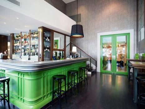 kavinės, restorano interjeras