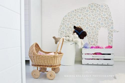 vaikų kambario sienų dekoracijos