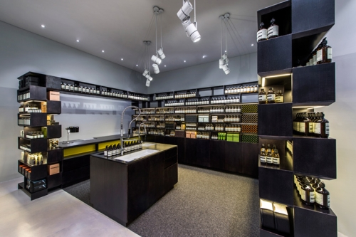 body care store design