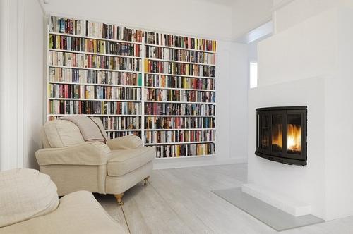 knygų spinta iki lubų