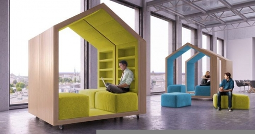 house-shaped sofas