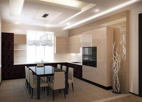 ruda virtuvė