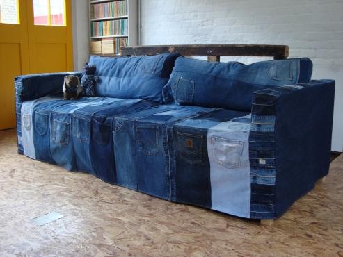 jeans sofa