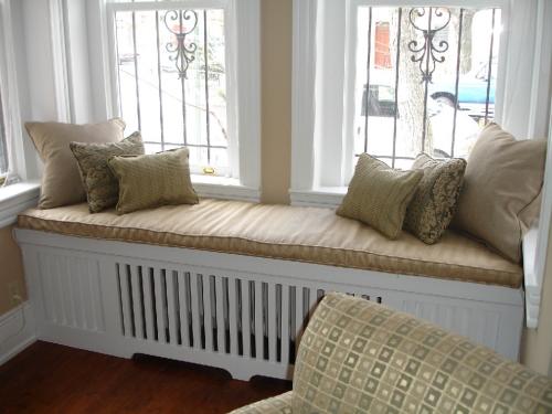 bench over radiator
