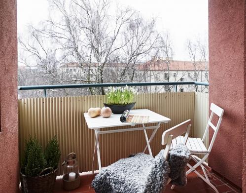 balkono interjero idėjos