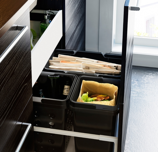 drawers for waste storage