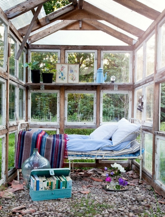 cosy greenhouse