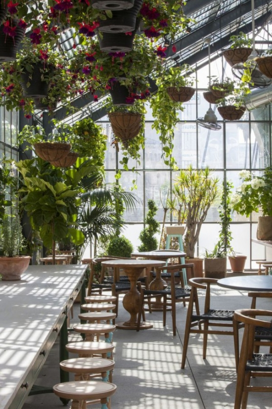 greenhouse restaurant