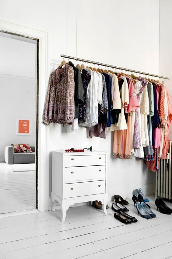 hanging clothes ideas