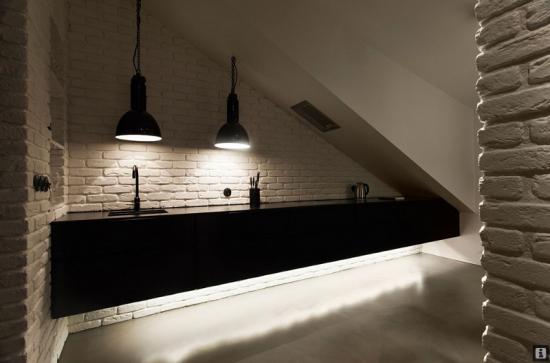 virtuvės spintelės ne iki žemės