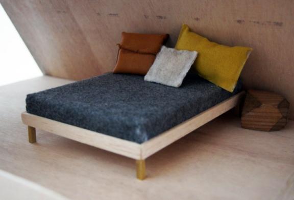 lovos maketas, pasidaryk maketą pats