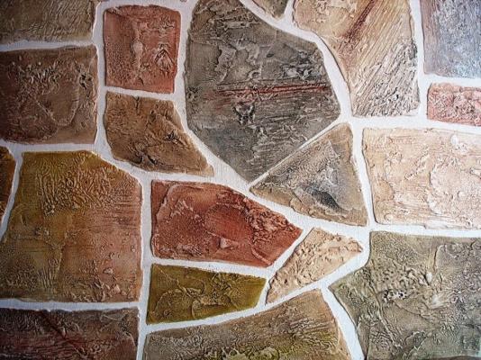 akmenų imitacija