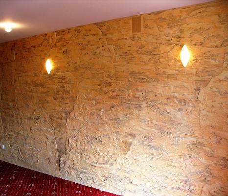 sienų dekoravimo idėjos