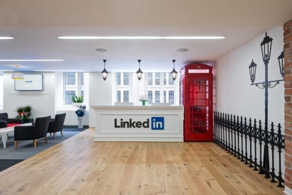linkedin office in london
