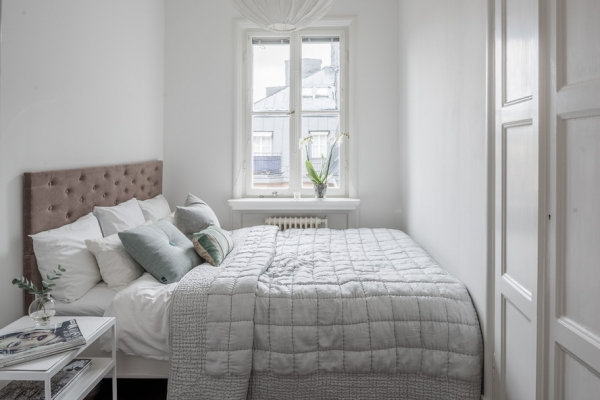 how to style small bedroom?